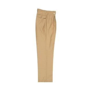 Tiglio Luxe Camel Wide Leg, Pure Wool Dress Pants 2576
