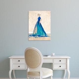 Easy Art Prints Alicia Ludwig's 'Blue Danube II' Premium Canvas Art