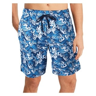 2xist Mens Catalina Woven Printed Swim Trunks