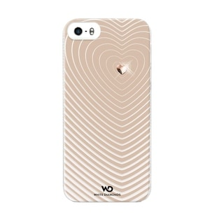 White Diamonds Heartbeat Case for Apple iPhone 5/5s (Gold)