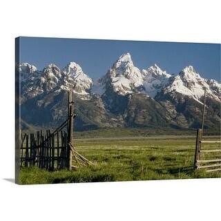 """Grand Teton National Park"" Canvas Wall Art"