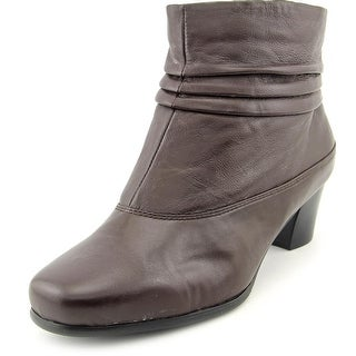 David Tate Vera Women WW Square Toe Leather Ankle Boot