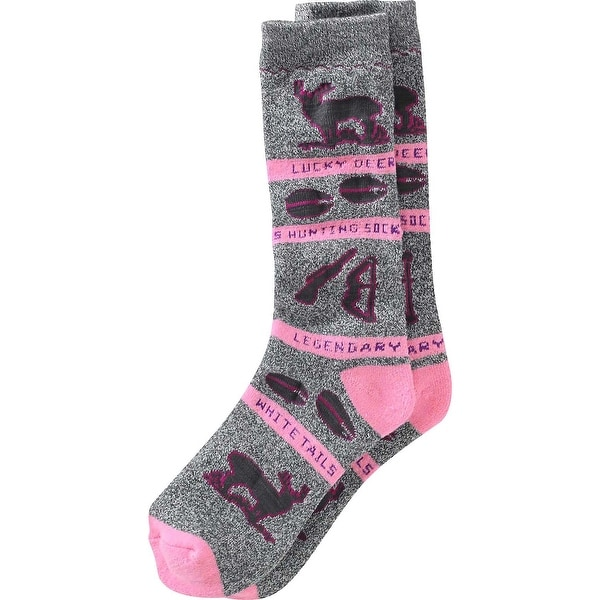 Legendary Whitetails Ladies Lucky Deer Hunting Socks - One size