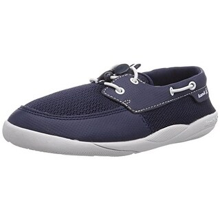 Kamik Boys Aboard Contrast Trim Boat Shoes - 6 medium (d)