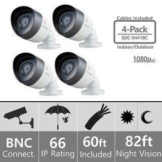 Lot of 4 Samsung SDC-9441BC Weatherproof 1080p High Definition Camera