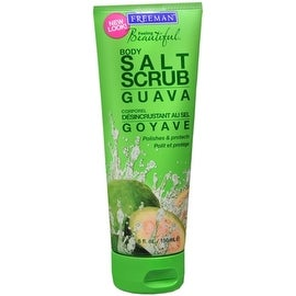 Freeman Feeling Beautiful Salt Body Scrub Guava 6 oz