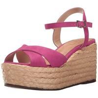 Schutz Womens Keisi Leather Open Toe Casual Platform Sandals