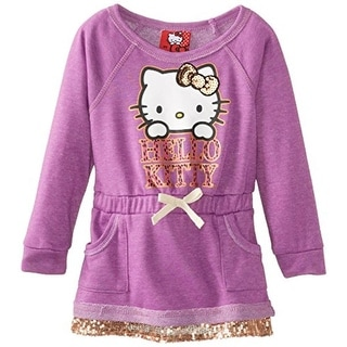 Hello Kitty Toddler Sequined Shirtdress