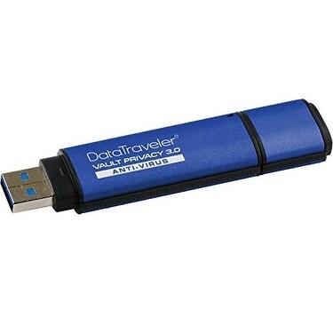 Kingston Digital 32Gb Data Traveler Aes Encrypted Vault Privacy 256Bit 3.0 Usb Flash Drive With Eset Av (Dtvp30av/32Gb)