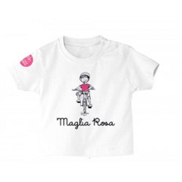 Giro Italia MGLROSA1824 Baby T-Shirt, Maglia Rosa - 18-24 Months