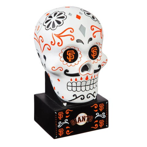 San Francisco 49ers Sugar Skull Statue