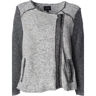 Jessica Simpson Womens Plus Elora Jacket Knit