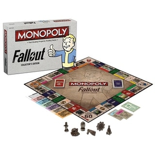 Fallout Monopoly Collector's Edition Board Game - multi