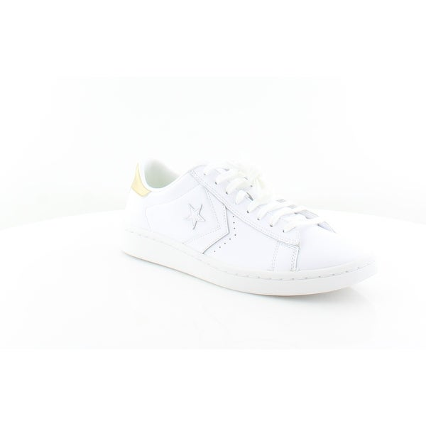 Converse 555934C Women  x27 s Fashion Sneakers WHite Light Gold White - a8729d2e74dc