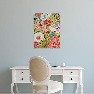 Easy Art Prints Karen Fields's 'Garden Birds II' Premium Canvas Art