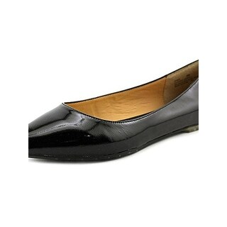 Me Too Womens Aimee 2 Pointy-Toe Flats Patent Leather Dressy - 6 medium (b,m)