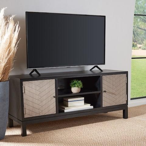 """Safavieh Ajana 47-inch Storage Media TV Stand - 47.3"""" W x 15.8"""" L x 20"""" H"""