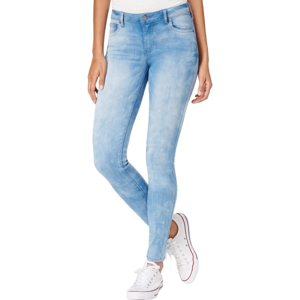 e0ff999b Shop Celebrity Pink Womens Dawson Skinny Jeans Denim Light Wash - Free  Shipping On Orders Over $45 - Overstock - 27220488