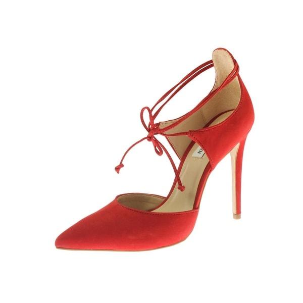 Steve Madden Womens Roebella Dress Heels Nubuck Pointed Toe