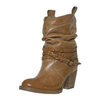 Dingo Fashion Boots Womens Twisted Sister Slouch Buffalo Tan DI 682