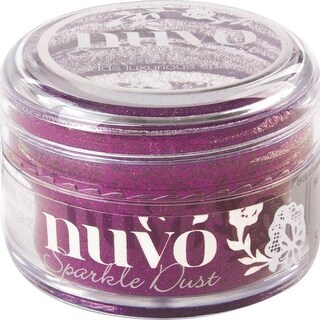 Nuvo Sparkle Dust .5Oz-Cosmo Berry