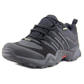 Adidas Fast X Gtx Men Round Toe Synthetic Black Hiking Shoe
