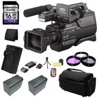 Sony HXR-M2500 HD Video Camera 16GB Bundle|https://ak1.ostkcdn.com/images/products/is/images/direct/57cdb3f6b42e3e226890a500d96db15e1598c3b1/Sony-HXR-M2500-HD-Video-Camera-16GB-Bundle.jpg?impolicy=medium