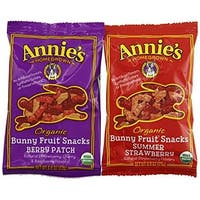 Annie'S Organic Bunny Fruit Snacks 9.6 Ounce (Pack of 12)