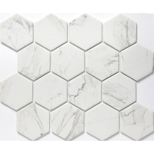 Emser Tile W87echo1012mh3 Echo 3 Quot X Hexagon