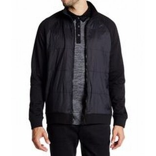 Kenneth Cole NEW Deep Black Mens Size XL Longsleeve Full Zip Knit Jacket