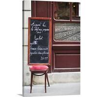 Premium Thick-Wrap Canvas entitled Paris, France