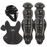 Rawlings Players Series Junior Ages 9 & Under Catcher Set (Black)