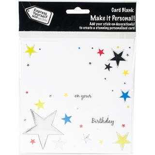 Express Yourself MIP Card-Stars