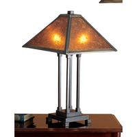 Meyda Tiffany 24217 Stained Glass / Tiffany Table Lamp from the Mica Missions Collection - tiffany glass - n/a