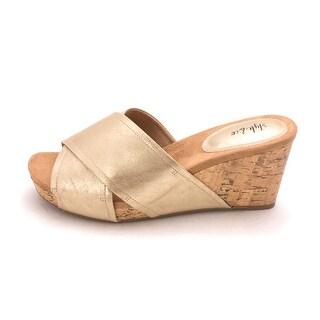Style & Co. Womens jill Open Toe Mules - 8.5