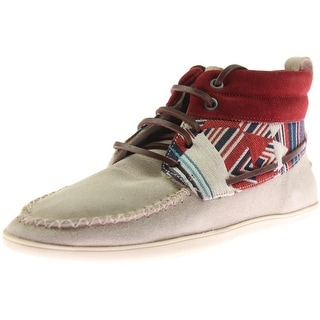 Zara Trafaluc Womens Suede Mid-Top Casual Shoes - 7.5 medium (b,m)