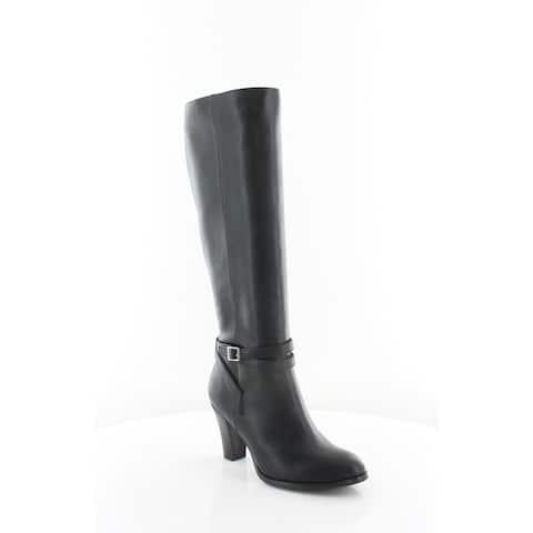 Giani Bernini Womens Becky Fabric Closed Toe Knee High Fashion Boots