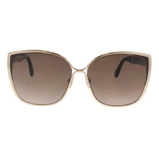 Jimmy Choo MATY/S 017C Gdbwglttr Cat Eye Sunglasses - 58-14-140