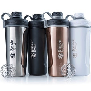 Blender Bottle Radian 26 oz. Stainless Steel Shaker Bottle with Loop Top (Option: Copper)