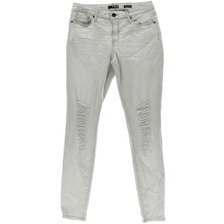 Kiind Of Womens Sexy Stretch Mid-Rise Skinny Jeans