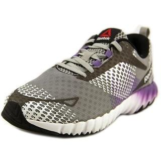 Reebok Twistform Blaze MT Women Round Toe Synthetic Gray Running Shoe