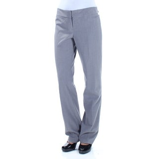 Womens Gray Wear To Work Pants Size 2