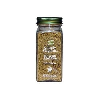 Simply Organic - Chicken Grilling Seasoning ( 6 - 1.1 OZ)