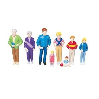 Marvel Education Play Figures, White Family, Vinyl, Set of 8