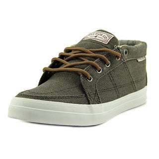 DVS Rivera Youth Round Toe Canvas Gray Sneakers