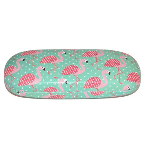 Sass & Belle Tropical Flamingo Glasses Case - one size