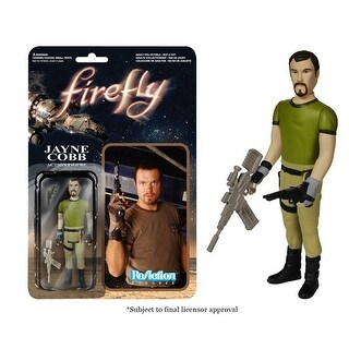 "Reaction Firefly Jayne Cobb 3.75"" Action Figure - multi"