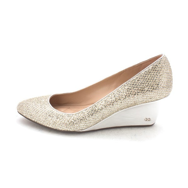 Cole Haan Womens 15A4108PA Closed Toe Wedge Pumps - 6