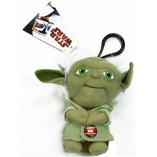 "Star Wars Yoda 4"" Talking Plush Clip On - multi"