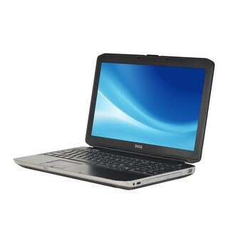 Dell Latitude E5530 Core i5-3210M 2.5GHz 4GB RAM 500GB HDD DVD Windows 10 Pro 15.6-inch Laptop (Refurbished)